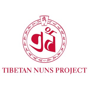 red and white logo of the Tibetan Nuns Project