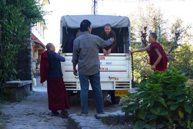 Tibetan Nuns Project, Dolma Ling Nunnery, Kangra Valley, Tibetan nuns, Buddhist nuns
