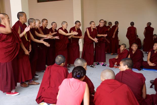 Tibetan nuns, Buddhist nuns, Jang Gonchoe, Tibetan Nuns Project, Buddhist debate
