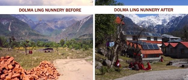 Dolma Ling Nunnery, Dharamsala, Tibetan Nuns Project, Buddhist nuns