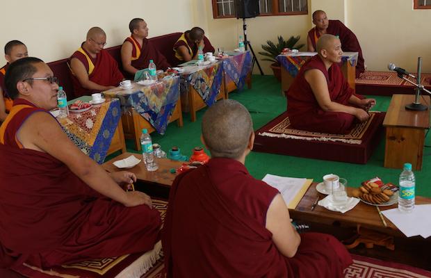 Tibetan nun, Buddhism, Geshema, Gesha, Tibetan Nuns Project, Geden Choeling, Dharamsala, Tibetan Buddhism