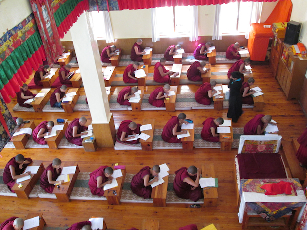 Geden Choeling Nunnery exams