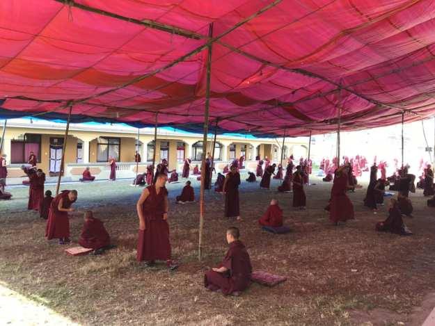 Jang Gonchoe, nuns debating, Tibetan debate