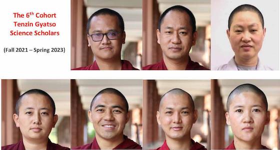 6th cohort Tenzin Gyatso Science Scholars Program