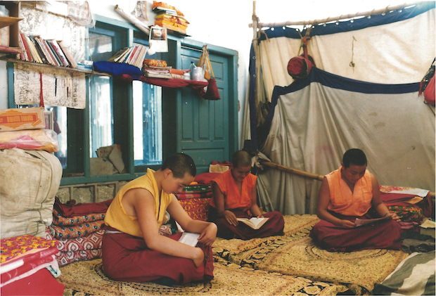 housing, Tibetan Buddhist nuns, Tibetan Nuns Project, rented house for nuns