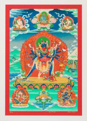 Chakra Sambhawa-unframed