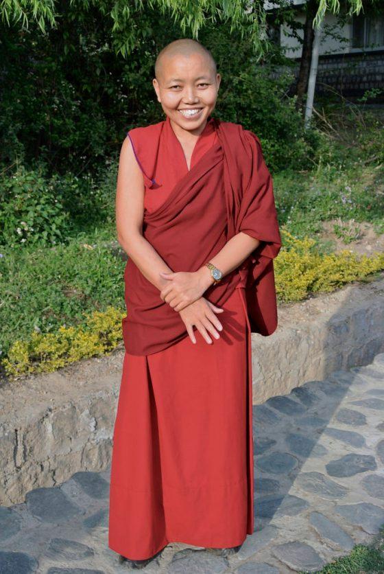Delek Wangmo, Geshema, Dolma Ling Nunnery, Tibetan Nuns Project