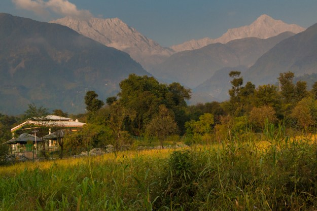 Dolma Ling Nunnery, Dhauladhar Range