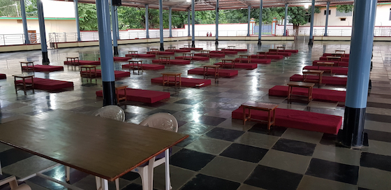 Examination hall for the 2019 Geshema exams
