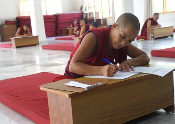 Geshema, geshema exams, 2018 Geshema exams, Geshema candidates, Tibetan Buddhist nuns, Buddhist nuns, Tibetan Buddhism, Tibetan Nuns Project