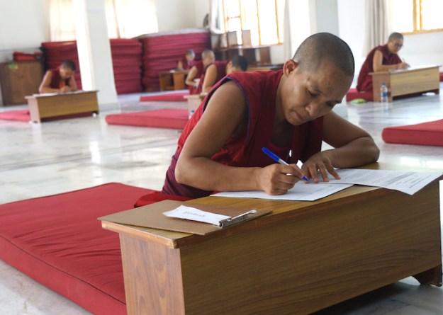 Geshema, geshema exams, 2018 Geshema exams, Tibetan Buddhist nuns, Buddhist nuns, Tibetan Buddhism, Tibetan Nuns Project