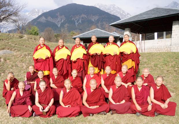 Geshema nuns, Tibetan Nuns Project, Tibetan Buddhist nuns