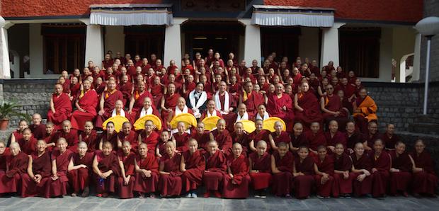 Tibetan Geshema nuns, Dolma Ling Nunnery, Tibetan Nuns Project