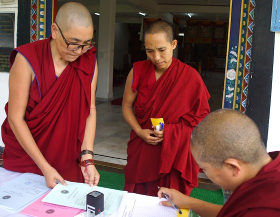 Geshema, geshema exams, Tibetan Buddhist nuns, Geshema candidates, Buddhist nuns, Tibetan Buddhism, Tibetan Nuns Project