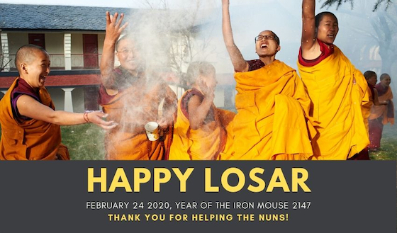 Happy Losar Tibetan New Year
