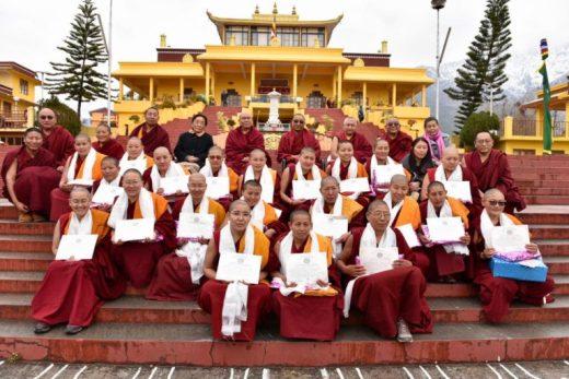 Geshemas, Tantric studies, Tantric Buddhism, studying tantric buddhism, women's empowerment