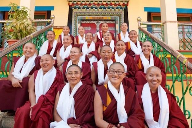 Geshema, Geshema nuns, Tantric Buddhism, Tibetan Nuns Project