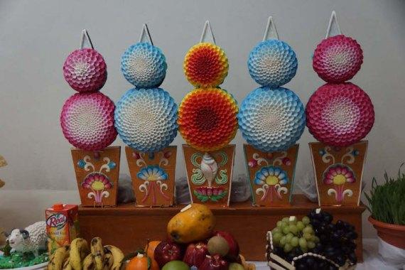 butter sculptures, Losar, Tibetan Buddhist holidays, Tibetan New Year, offerings, Tibetan Nuns Project