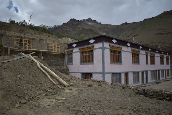 new housing block Dorjee Zong Nunnery