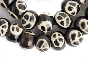 Peace Symbol mala, mala, malas, Tibetan malas, Tibetan prayer beads,