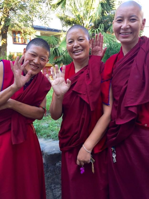 photo by Robin Groth of Tibetan Buddhist nuns