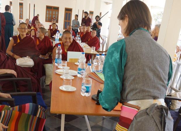 Geshema nuns, Buddhist nuns, Tibetan nuns. Tibetan Nuns Project
