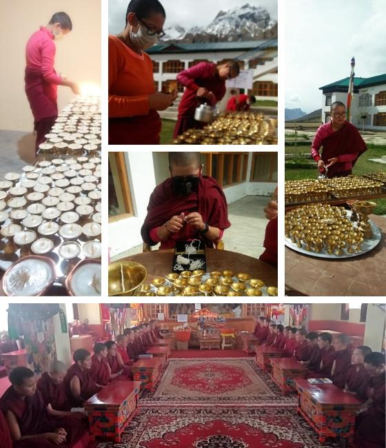 Sherab Choeling Nunnery, Saga Dawa