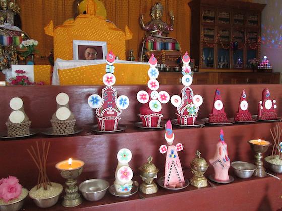 tormas, Tibetan tormas, Tibetan sacred arts, Tibetan ritual arts