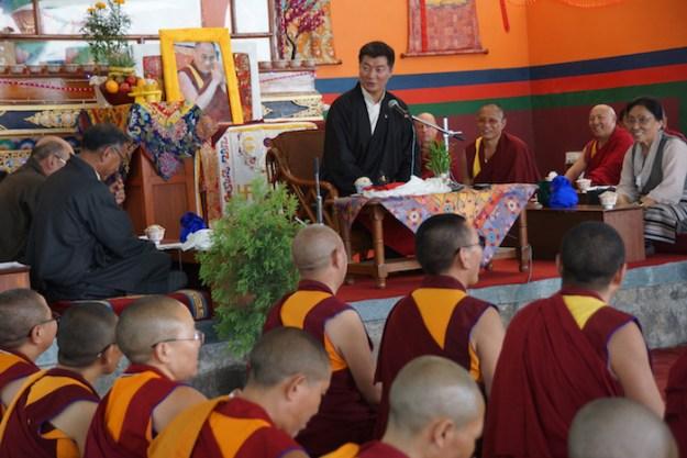 Sikyong, Tibet, Tibetan Nuns Project, Dr. Lobsang Sangay, Buddhist nuns