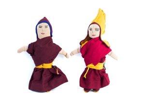 nun doll, monk doll, handmade doll, cotton doll, handmade cotton doll