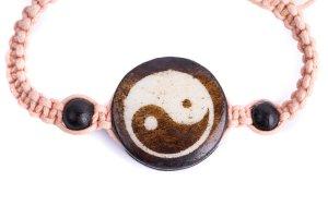 Macrame Bracelet Yin Yang