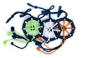 Large Dharma Wheel Blue variations