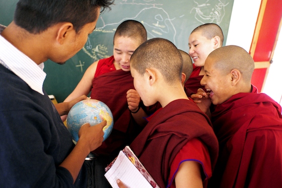 teacher appreciation, Shugsep Nunnery, education of Tibetan Buddhist nuns