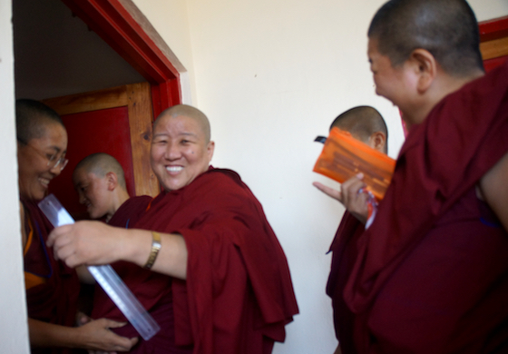 Geshema exams 2018, Geshema degree, Tibetan nuns, Tibetan Buddhism, Buddhist nuns. Tibetans, nuns, education for women, Tibetan Nuns Project, Geshe degree, Geshema degree