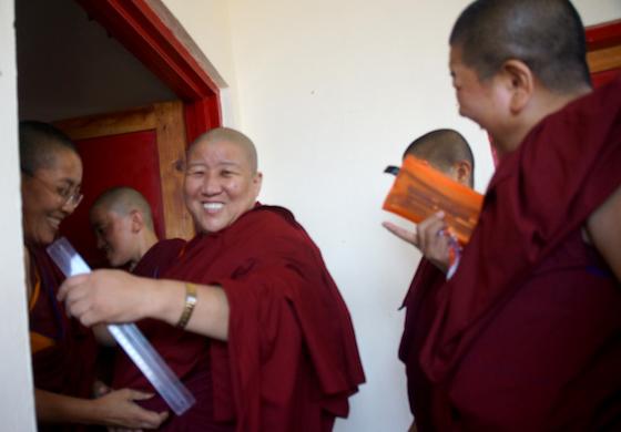 Geshema exams 2018, Geshema degree, Tibetan nuns, Tibetan Buddhism, Buddhist nuns. Tibetans, nuns, education for women, Tibetan Nuns Project, Geshe degree, Geshema degree