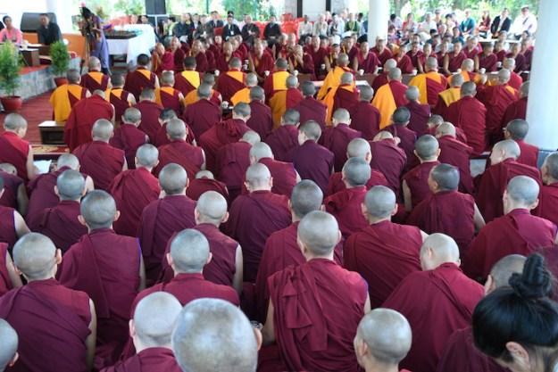 Tibetan Buddhist nuns, nuns, Tibetan Nuns Project, 30th anniversary, Dolma Ling Nunnery