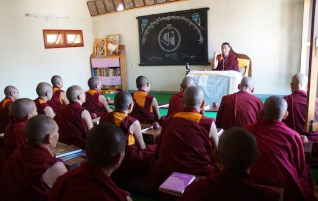 Tantric studies, Tibetan nuns, Tibetan Buddhism, Dolma Ling
