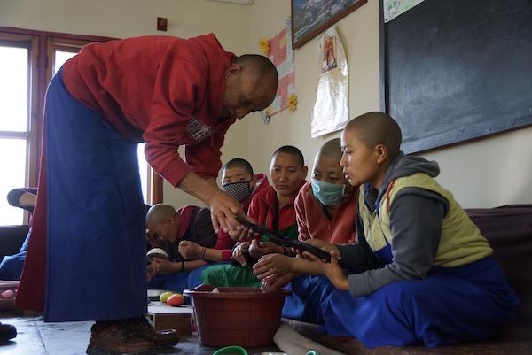 Tibetan butter sculpture, Tibetan Nuns Project, butter sculpture