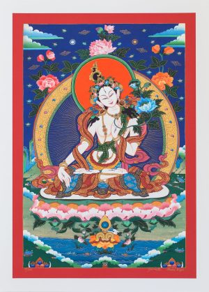 White Tara II-unframed