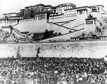 Tibetan Women's Uprising, March 12 1959, protest in Tibet, Tibetan women protest