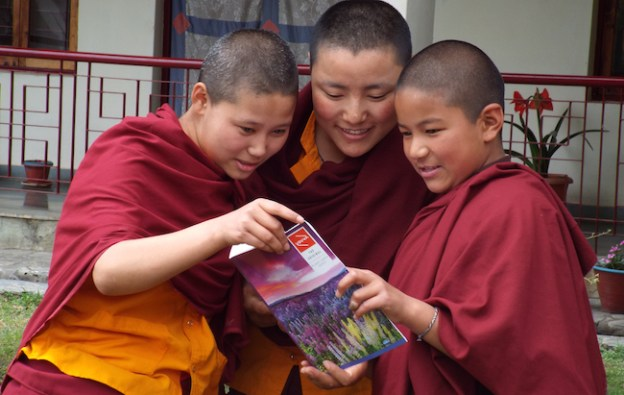 educate and empower women Tibetan Nuns Project