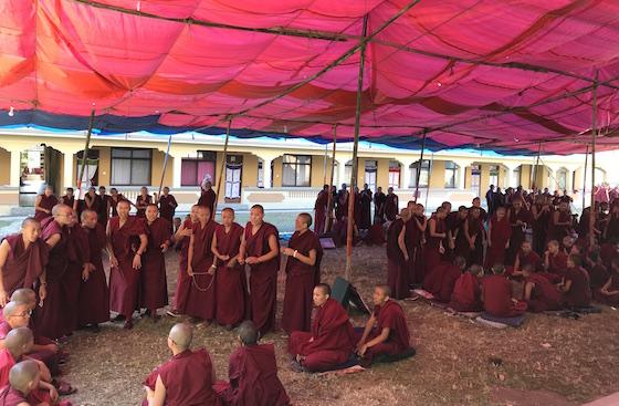 Jang Gonchoe, Kopan Nunnery, Tibetan nuns, Tibetan Buddhist debate, inter-nunnery debate, Buddhist nunnery