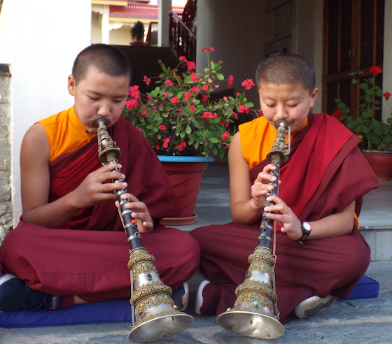 photo from the Tibetan Nuns Project 2020 calendar