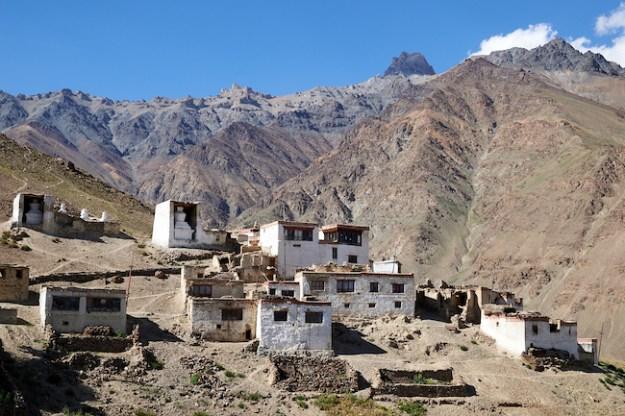 remote Dorjee Zong Nunnery in Zanskar by Olivier Adam low res