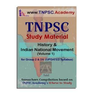 TNPSC History & Indian National Movement