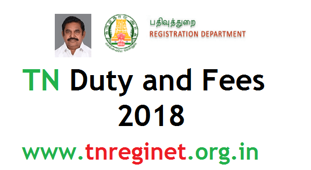 Tamilnadu Duty and Fees 2018 - tnreginet-org-in
