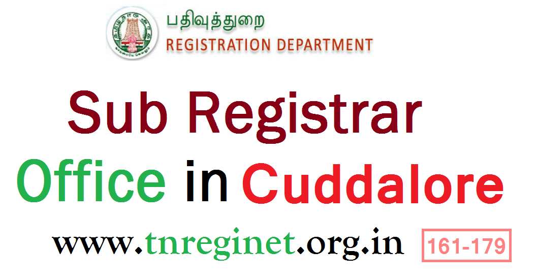 Sub Registrar Office in Cuddalore - tnreginet-org-in