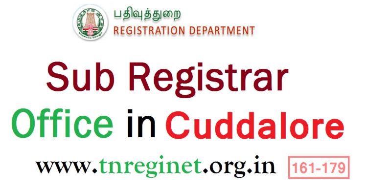 Sub Registrar Office in Cuddalore - tnreginet-org-in