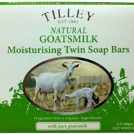 Tilley Twin Bar Soaps - Goat Milk