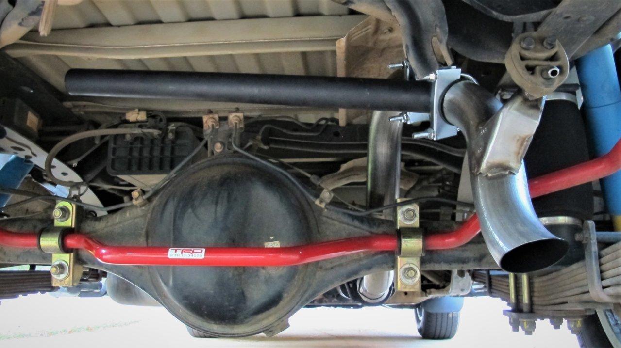 exhaust dump needed cut here